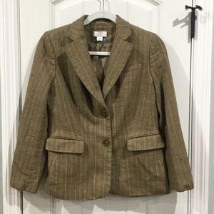 LOFT virgin wool 8P blazer